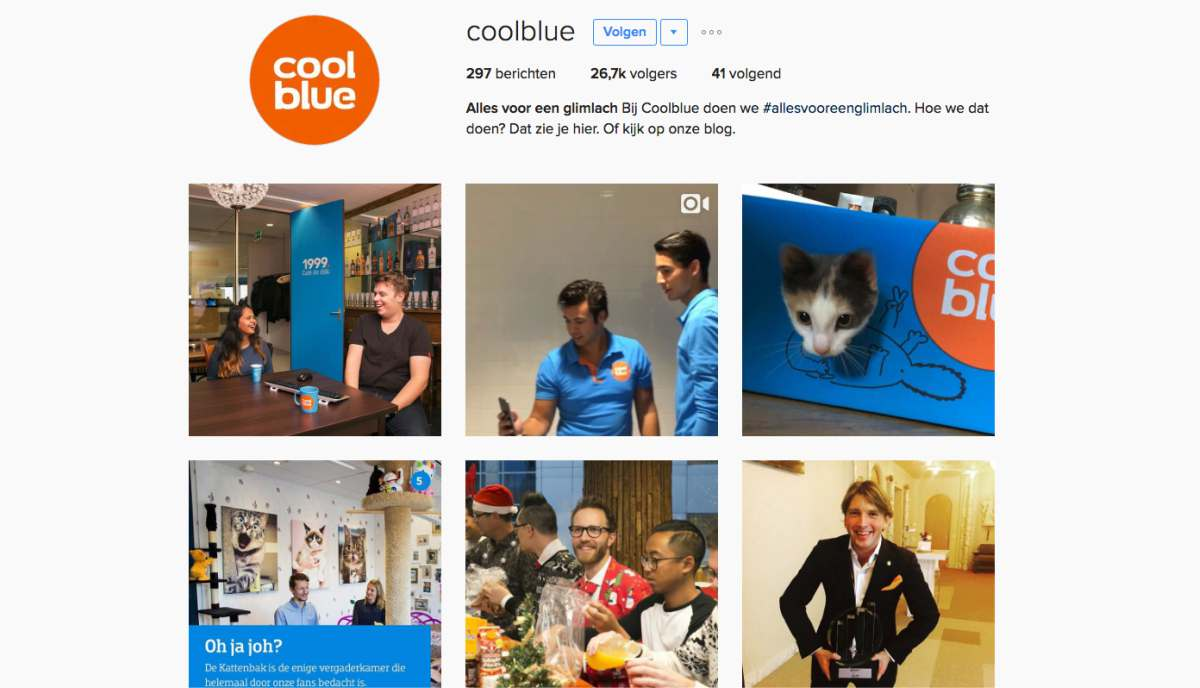 Coolblue Instagram