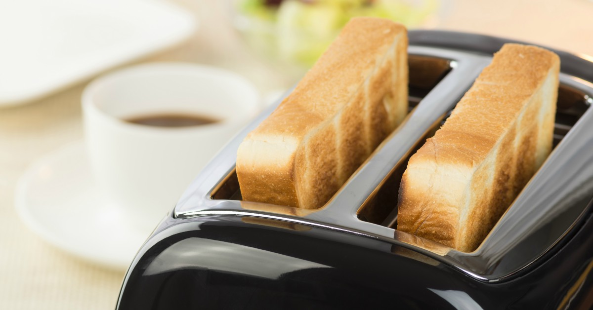 Brood in toaster
