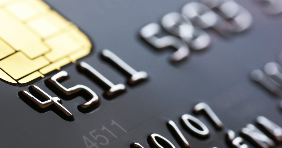Close-up creditcard
